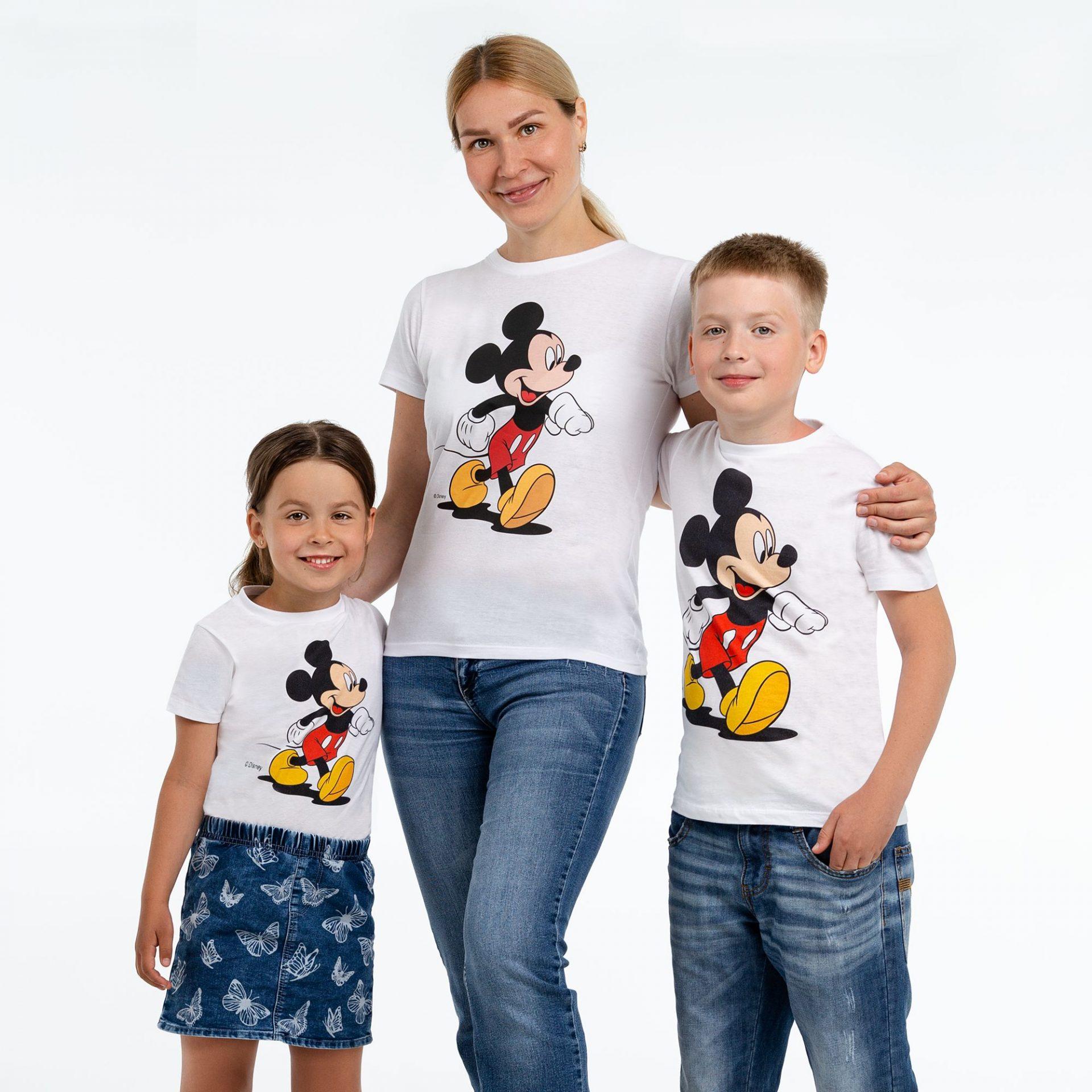 Новости сайта: новые модели толстовок, свитшотов и футболок с лицензионными принтами Микки от Disney