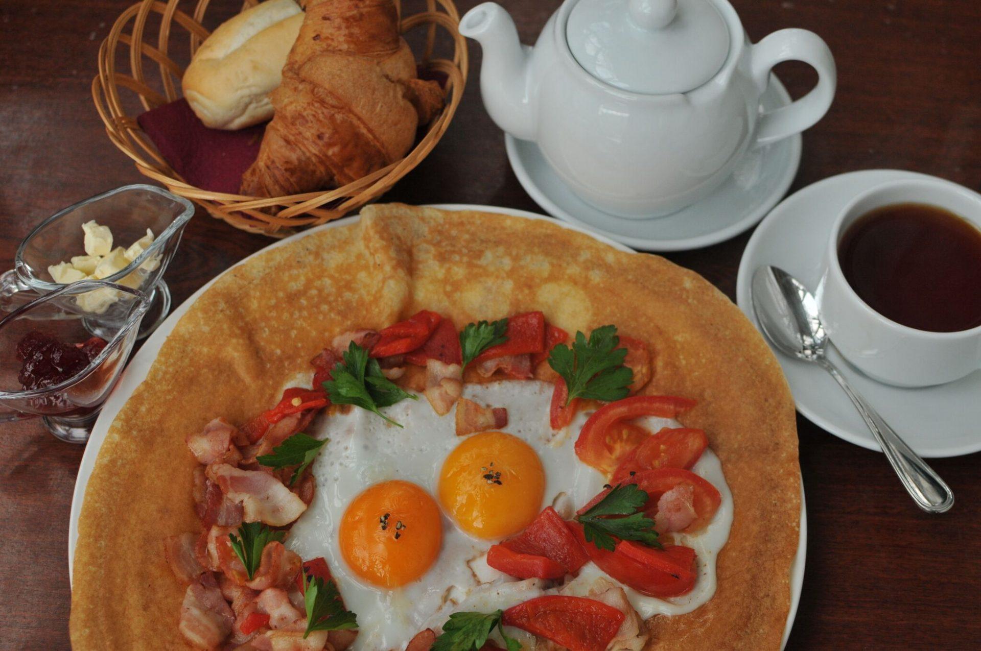 Креп на завтрак