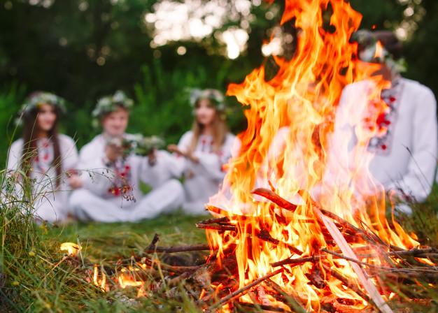 Сегодня славяне отмечали праздник Пролетье