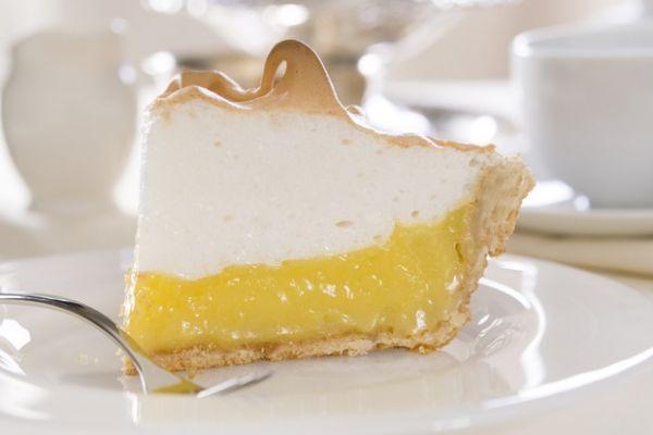 Очень легкий лимонный пирог